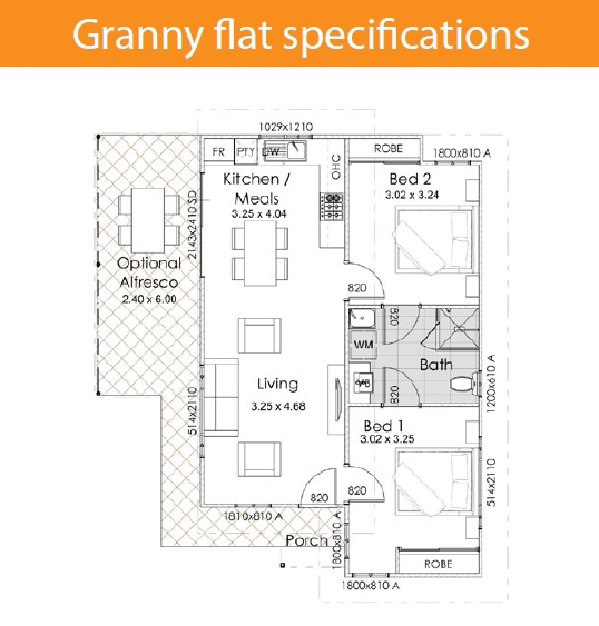 testimonial bassendean 2x1 villa floorplan granny flat