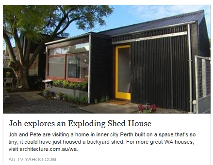Featured in habitat magazine little house in subiacoleimac building Better homes and gardens episodes 2016