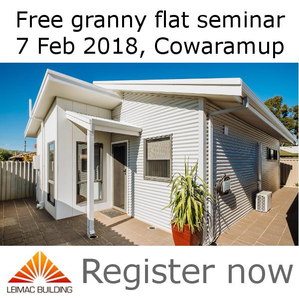 granny flat seminar margaret river region