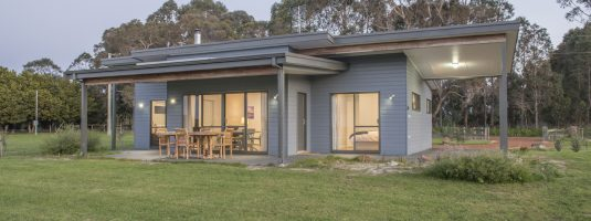 2x2 chalet plan margaret river region